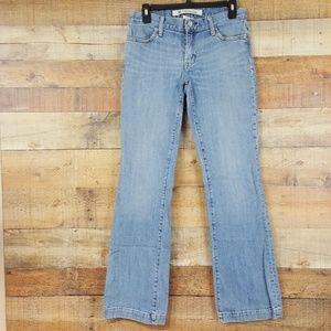 Gap Long and Lean Jeans Women's Size 4R Bootcut TJ